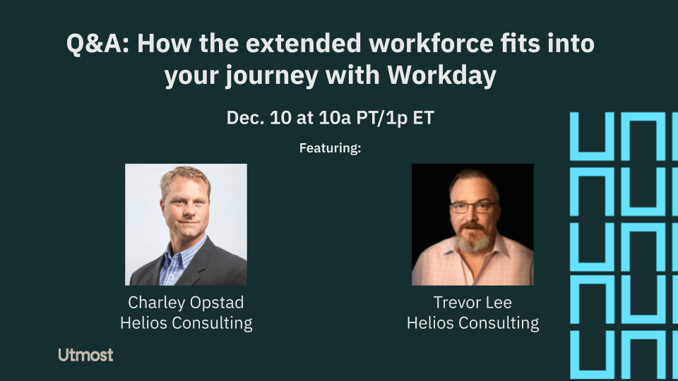 Extended Workforce Workday Journey